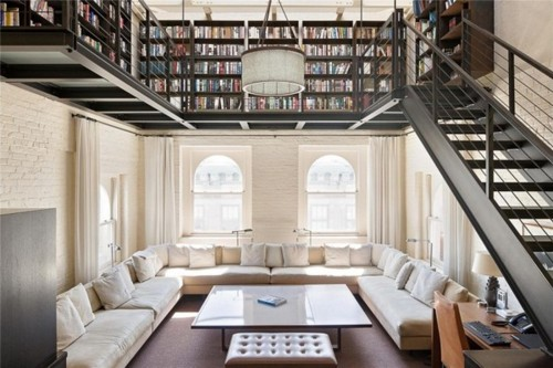 Loft with Library Up Stairs.jpg