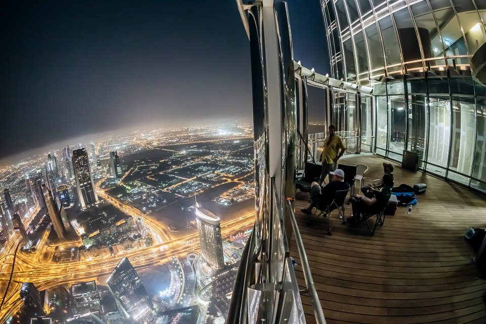 Burj Khalifa - Night View