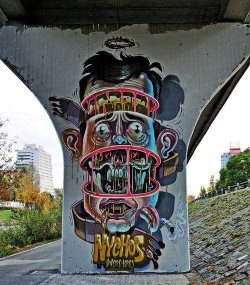 Nychos - Under Bridge, Face