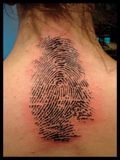 Fingerprint Tattoos