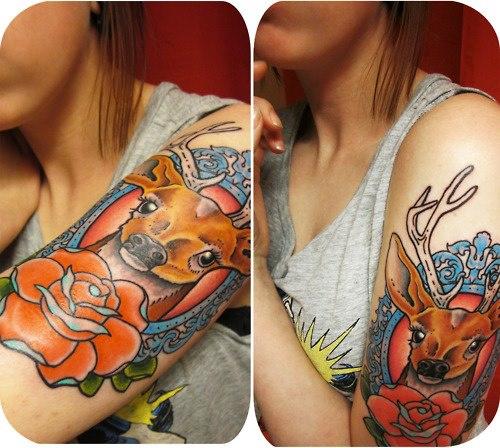 Tattoo - Deer