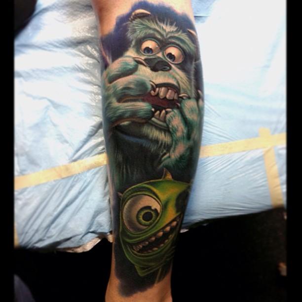 Tattoo - Nikko Hurtado - Monsters Ink 2