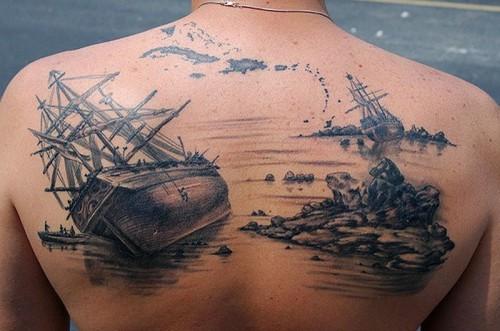 Tattoo - Pirate Ship