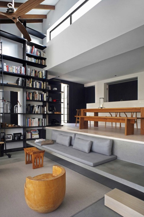 Architecture - Living Room, Dining Room