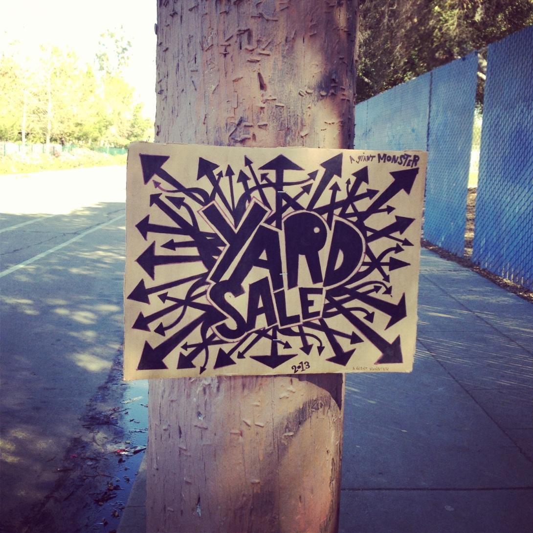 aGIANTmonster - Yard Sale 2