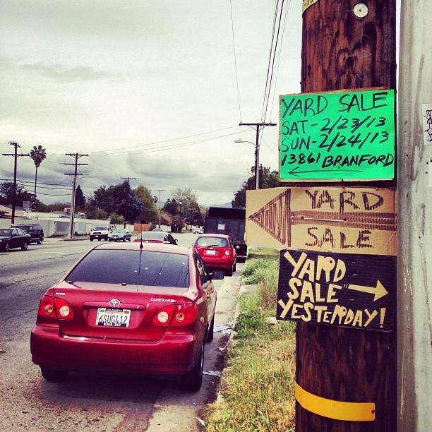 aGIANTmonster - Yard Sale 3