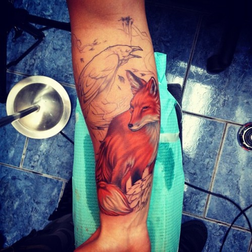 David-Gonzalez - Fox Tattoo