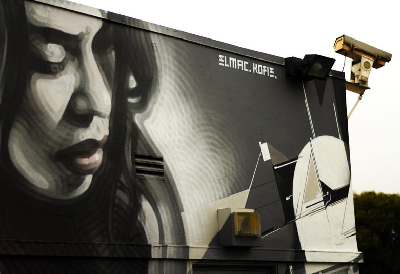 El Mac X Kofie - Mural