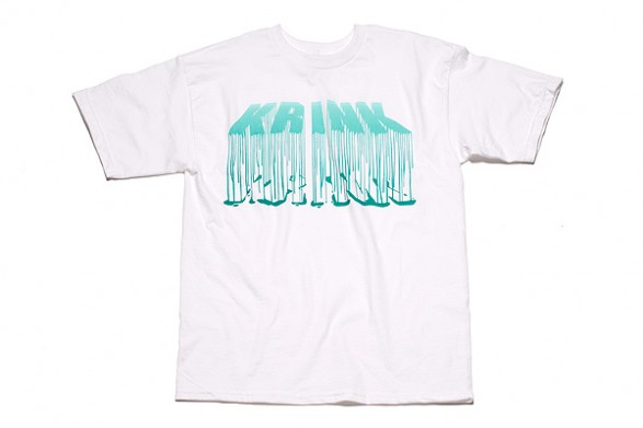 Krink - Shirt - Turquoise Drips