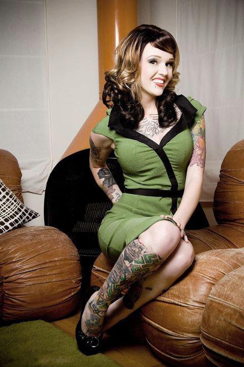Model - Tattoo - Green