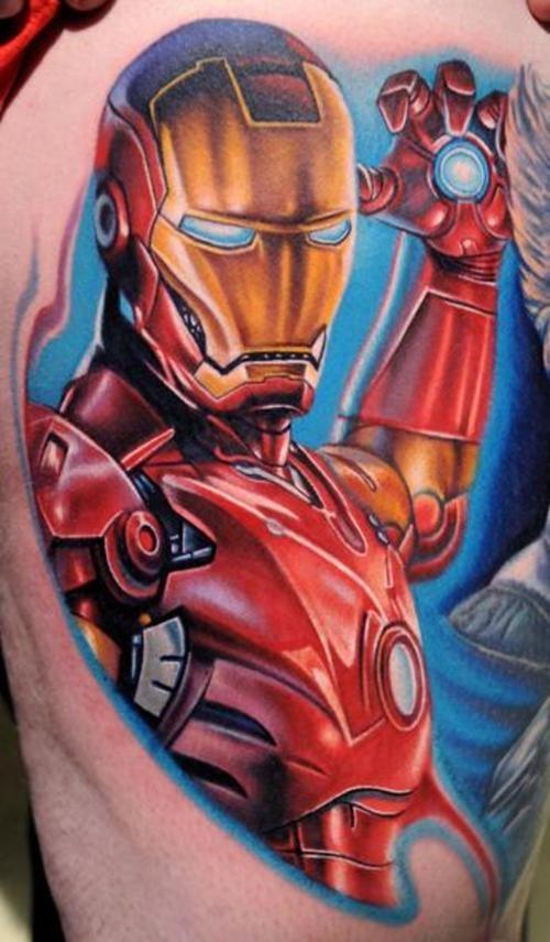 Tattoo - Nikko Hurtado - Iron Man