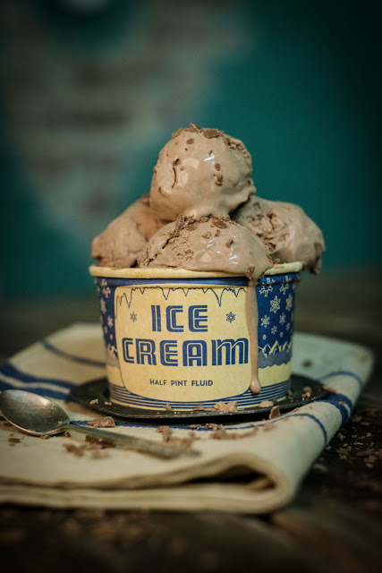 Vintage Ice Cream Picture