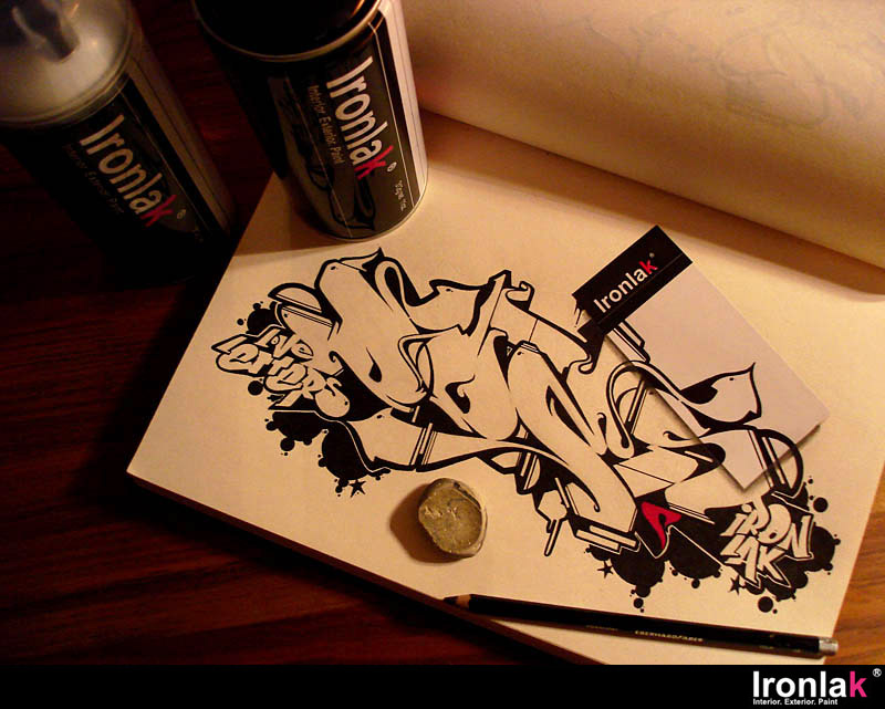 Does - Ironlak - Blackbook - Cans