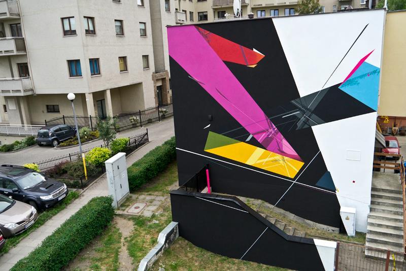 Remi Rough, Nawer, Poland, Traffic Design Mural Festival