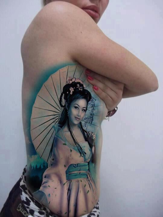 Tattoo - Geisha