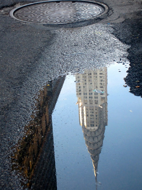 New York, Empire State Building, Puddle, Street.jpg