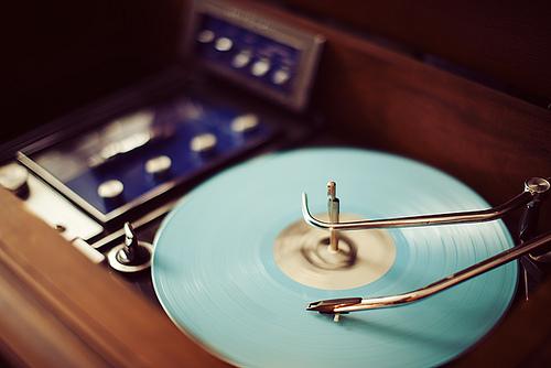Turntable, Vintage, Blue.jpg