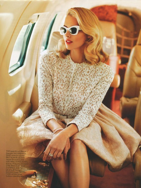 Model - Vintage, Plane, Sunglasses, Brown, Tan.jpg