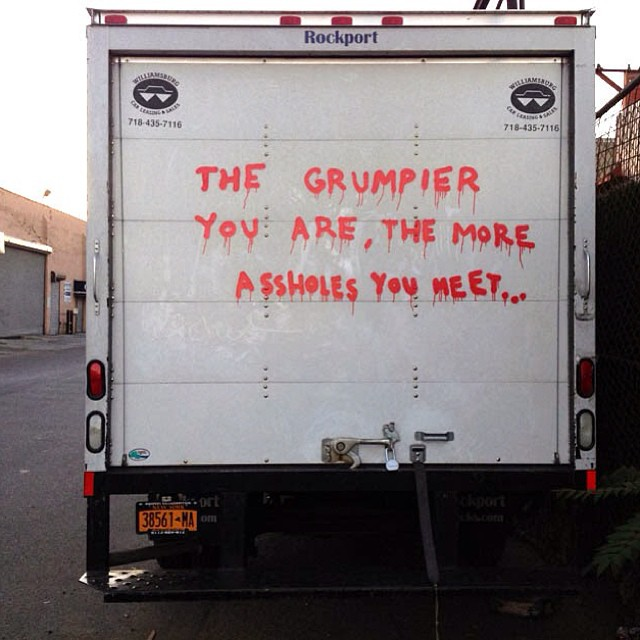 Banksy - The Grumpier You Are.jpg