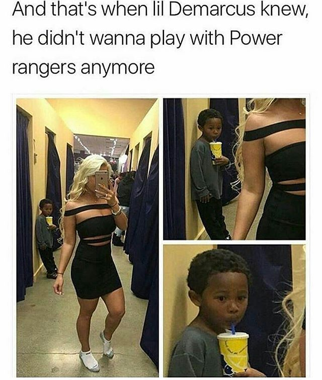 Funny - Lil Kid, Power Rangers.jpg