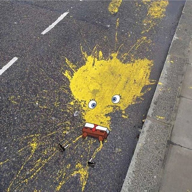 Art - Spongebob, Splatter.jpg