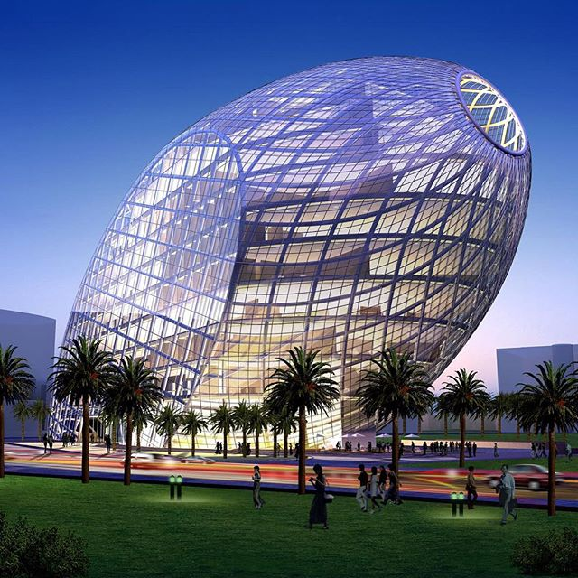 Architecture - Cybertecture Egg, James Law Cybertecture, Mumbai, India.jpg