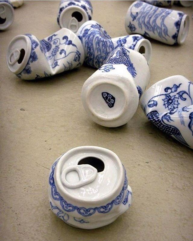 Art - Lei Xue, Porcelain Soda Cans.jpg