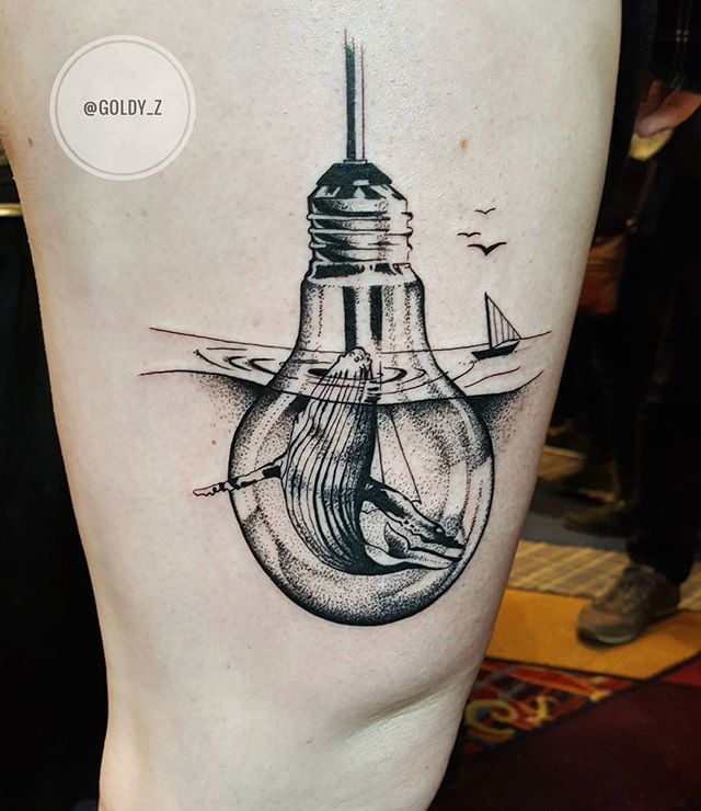 Tattoo - Zlata Kolomoyskaya, Whale, Lightbulb.jpg