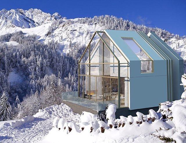 Architecture - Omar Ghafour, Ski Chalet.jpg