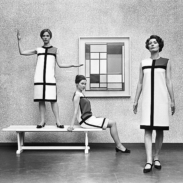 Art - Yves Saint Laurent, Mondrian.jpg