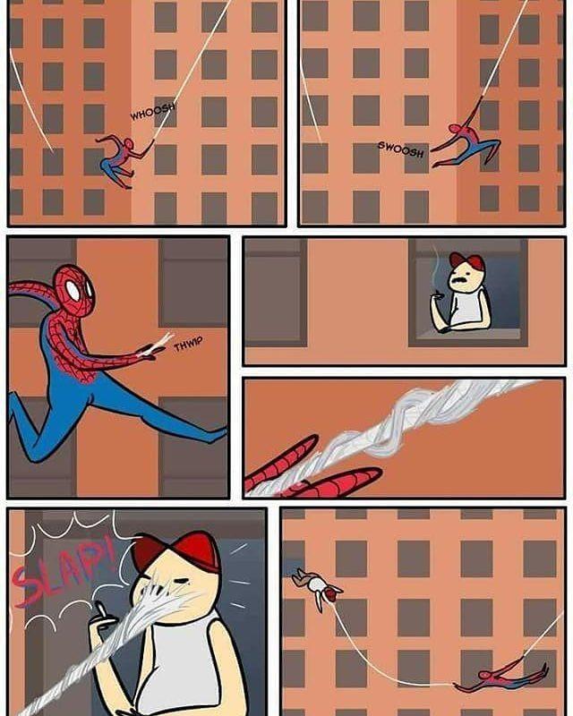 Illustration - Jay DC Marvel, Spiderman, Brown.jpg