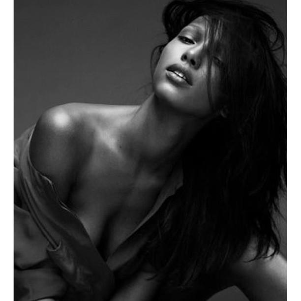 Model - Jasmine Tookes, Black & White 13.jpg