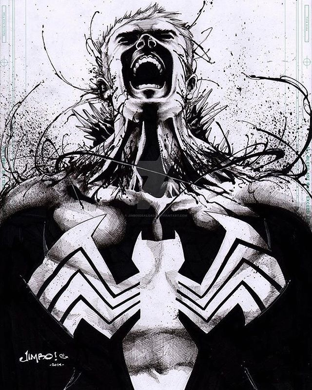 Illustration - Jimbo Salgado, Venom.jpg