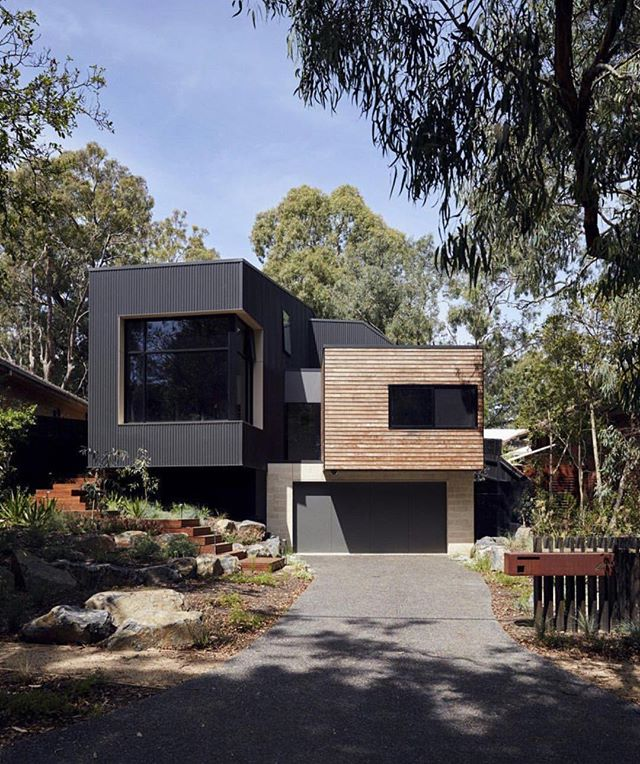 Architecture - Blackburn House, ArchiBlox, Melbourne, Black, Brown.jpg