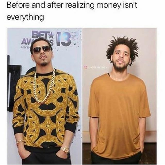 Funny - J Cole, Money.jpg