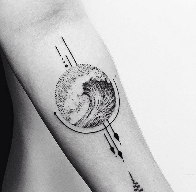 Tattoo - Sergei Belyi, Black & White, Wave.jpg