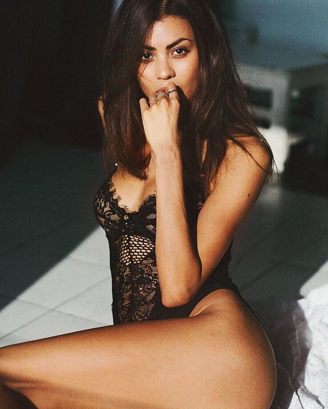 Model - Eileen Cassidy, Black