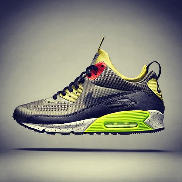 Clothes - Nike, Air Max, Green, Black.jpg