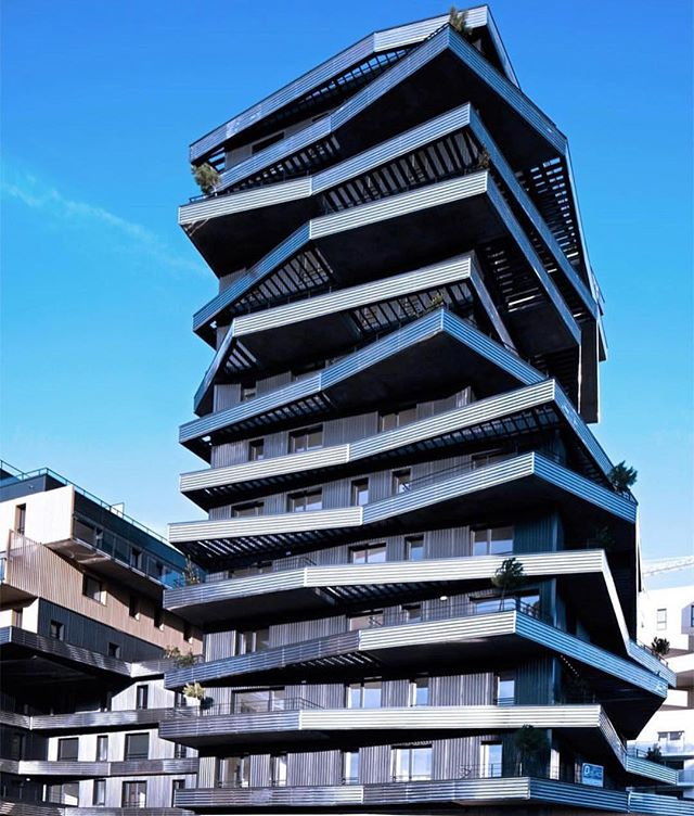 Architecture - Inoxia Apartments, Christophe Rousselle Architects, France, Nantes, Philippe Ruault.jpg