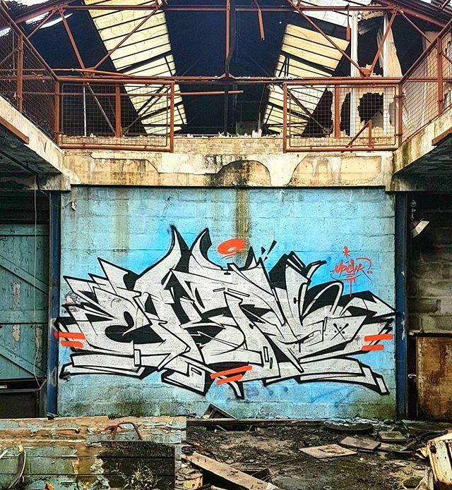 Graffiti - Ekto, White, Blue, Orange
