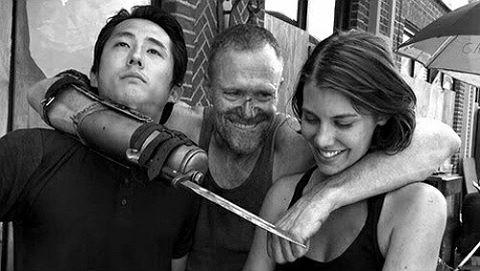 Walking Dead - Maggie, Glen,.jpg