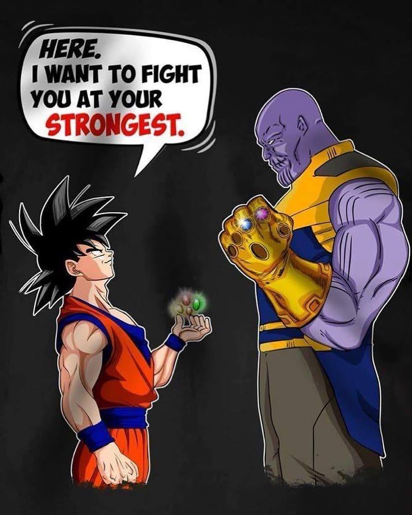 DBZ - Goku, Thanos.jpg