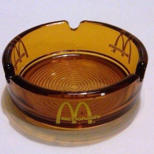Funny - McDonalds, Ash Tray, Orange.jpg