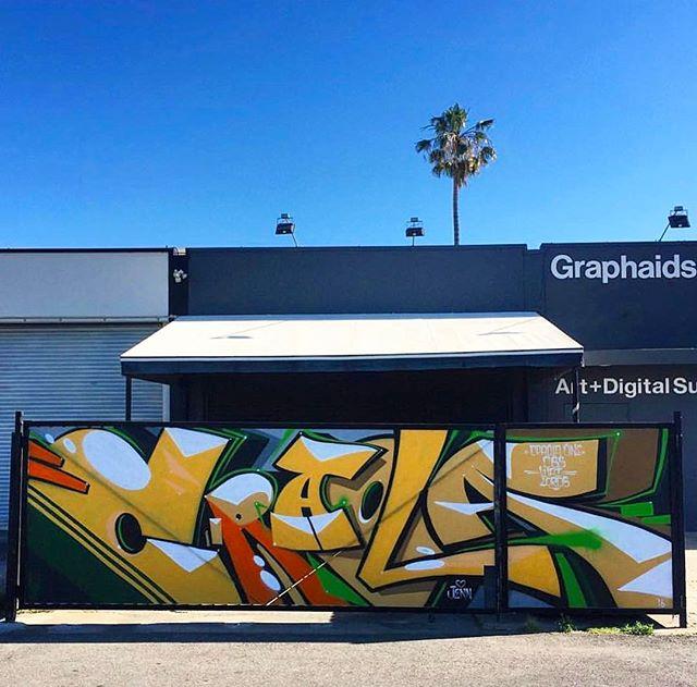 Graffiti - Craola, Yellow, Green, Brown.jpg