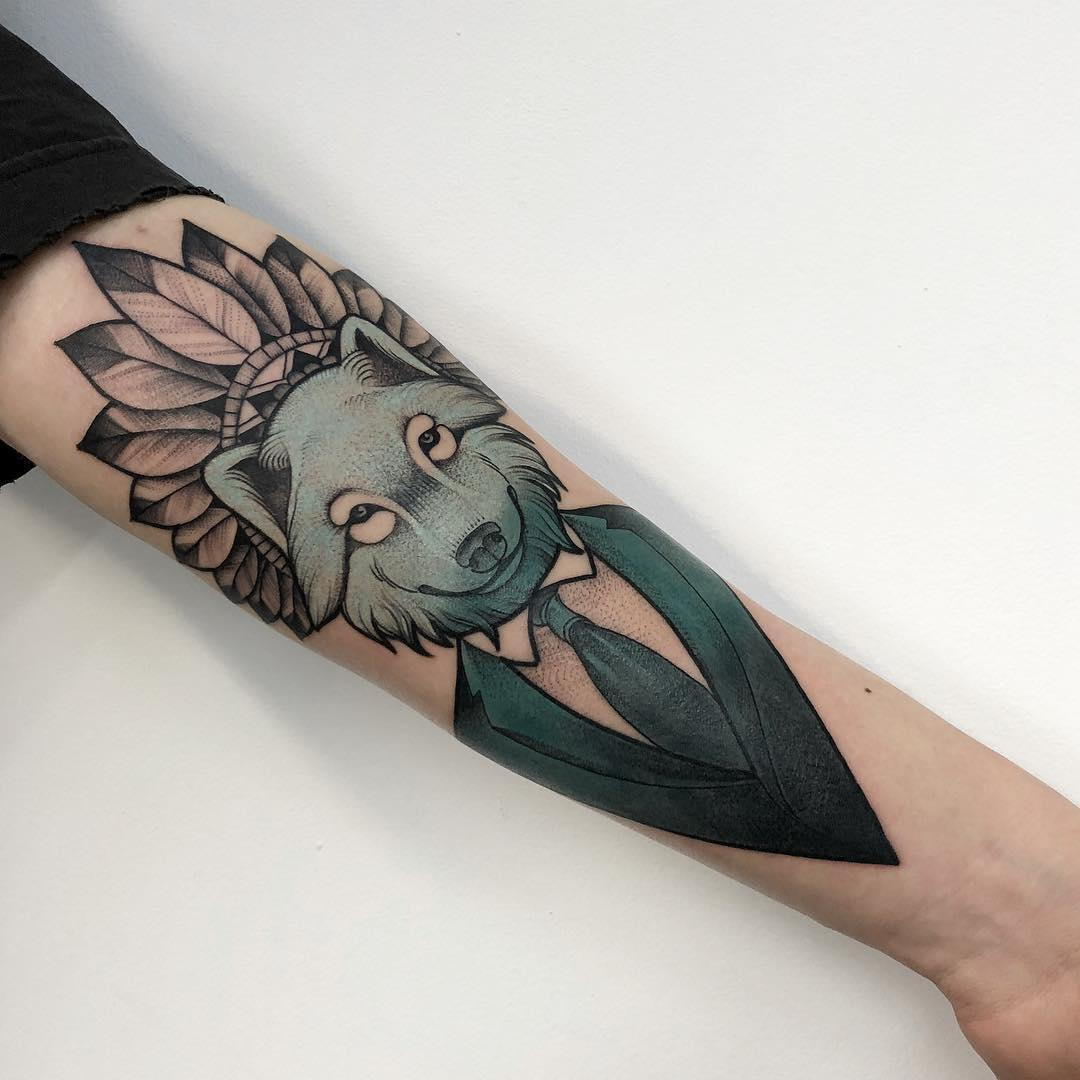 Tattoo - Mateusz Wojtak, Gray, Blue, Brown.jpg