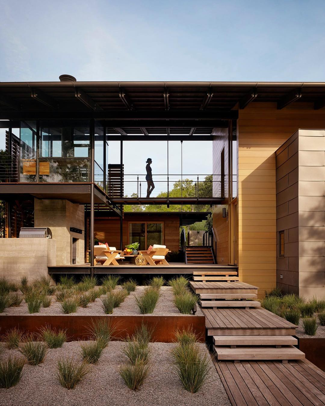 Architecture - Hog Pen Creek Residence, Lake Flato Architects, Texas, Brown, Green.jpg